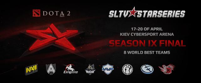 Финалы SLTV StarSeries IX: LIVE!