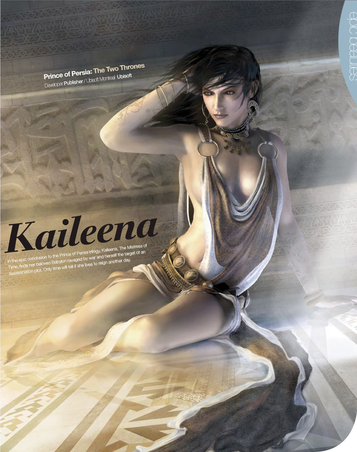 Kaileena nude mod prince of persia warrior  cartoon image