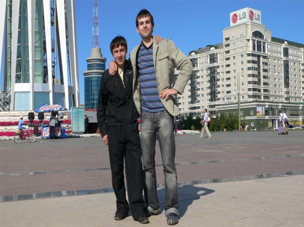 Veryb1gman # and me in Astana city^